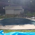Pool with cover 1