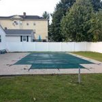 Pool with cover 2