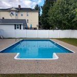 Pool with buoy separator